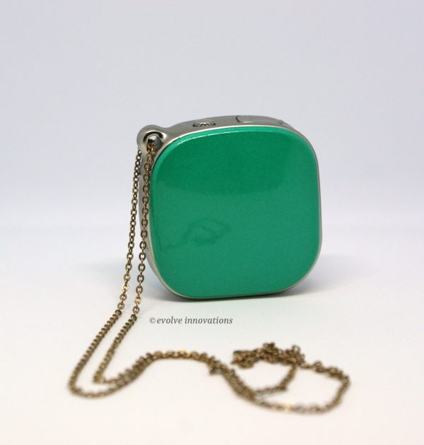 mini personal gps tracker worn as necklace